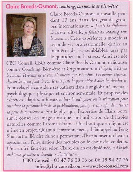 Claire Breeds-Osmont, femme emblématique.